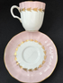 Royal Worcester Espresso coffee cup and saucer 'Lotus' c1955